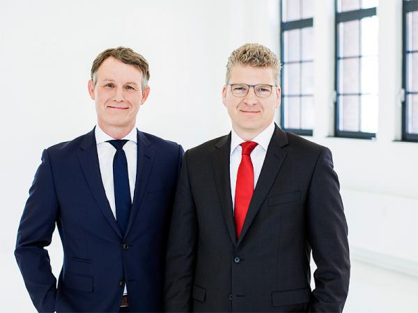 Olaf Borkers (CFO) and Wilhelm Wellner (CEO)