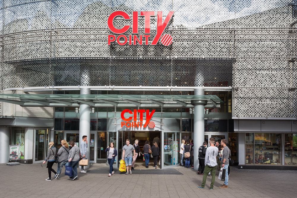 City Point Kassel Parken